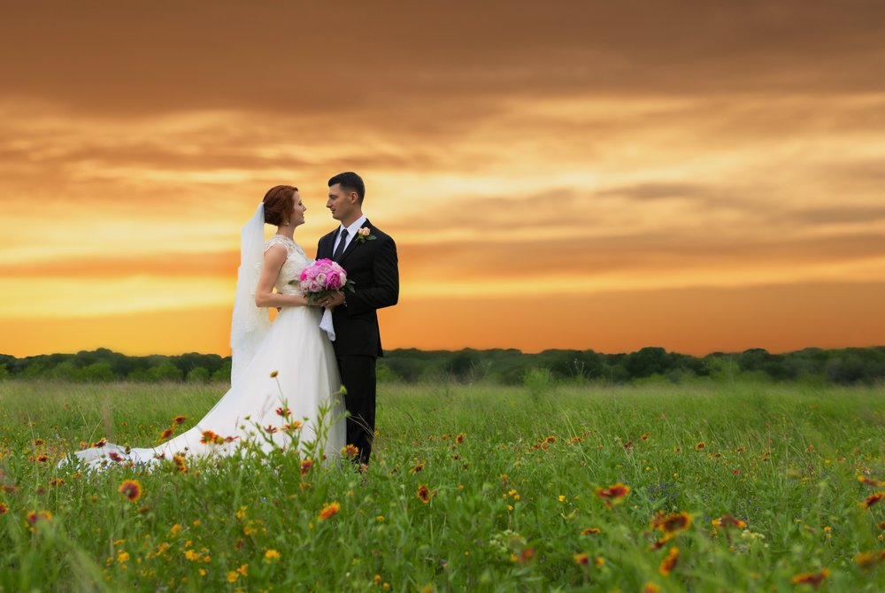 Hill Country Wedding, Kyle, Texas