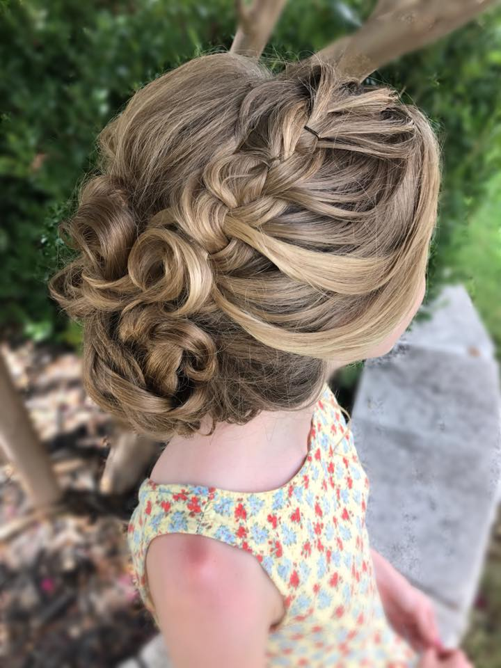 san antonio wedding hair