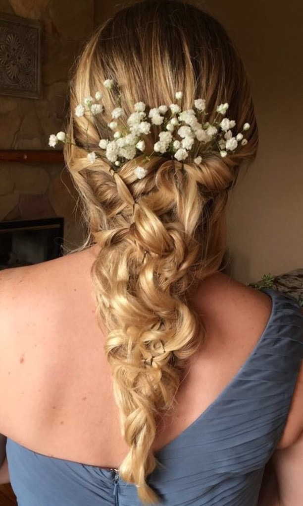 Austin wedding hair