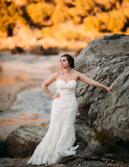 san antonio bridal portrait
