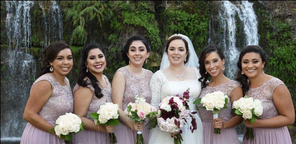 San antonio wedding hair and makeup
