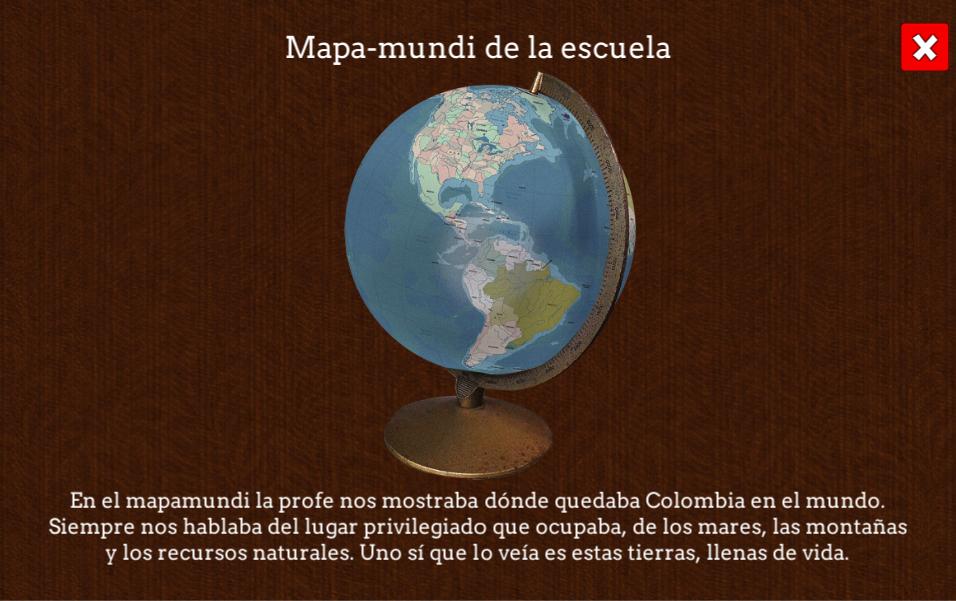 Mapamundi Reconstrucción