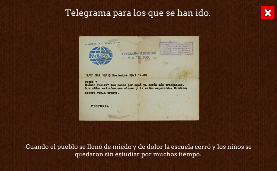 Telegrama, Reconstrucción