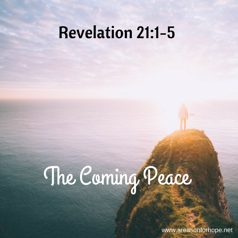 Peace and Hope is Coming
