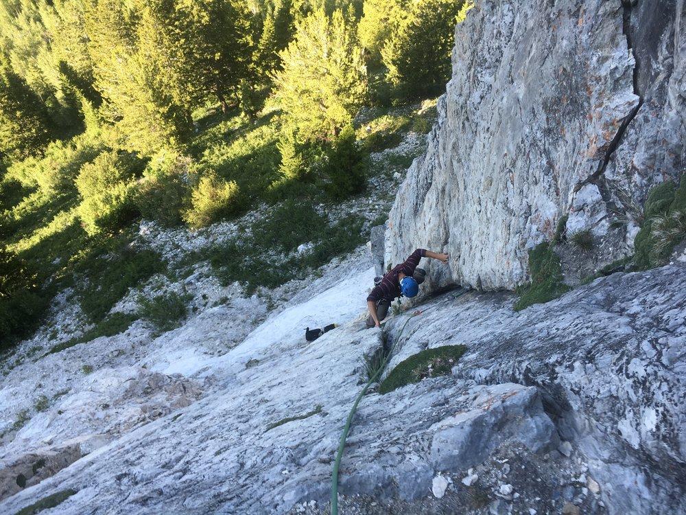 Rock climbing, rock guide, Utah
