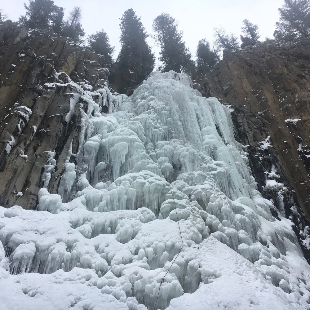 Ice climbing guide and education, Salt Lake City, Utah
