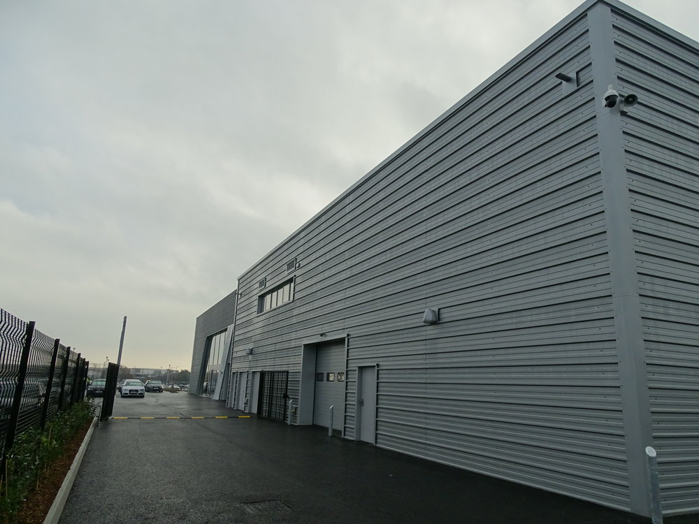 Kingspan horizontal composite wall cladding