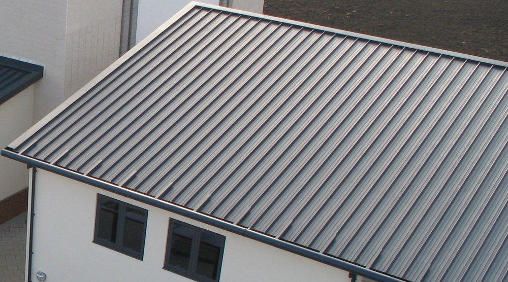 Standing Seam Aluminium Roofs