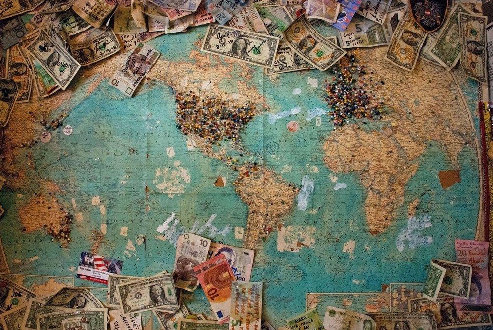 international money chasing