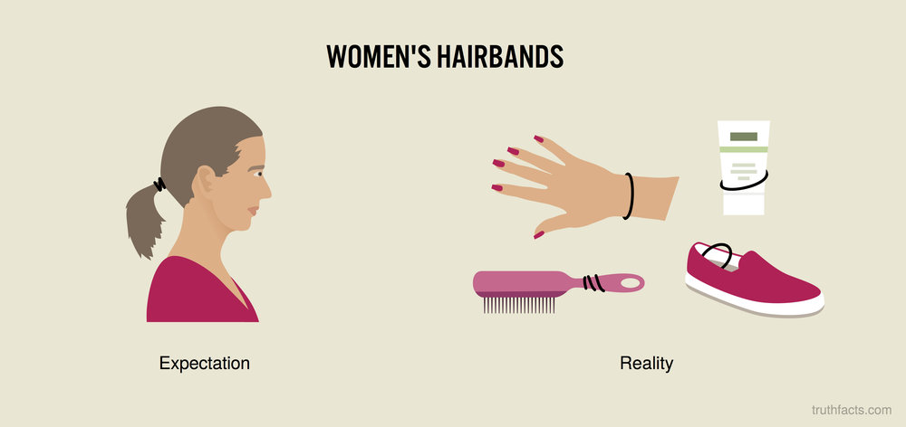 Women's hairbands