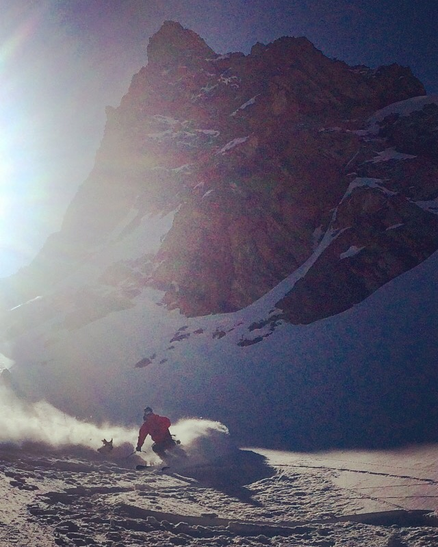 Blower, Hero Knob Couloir