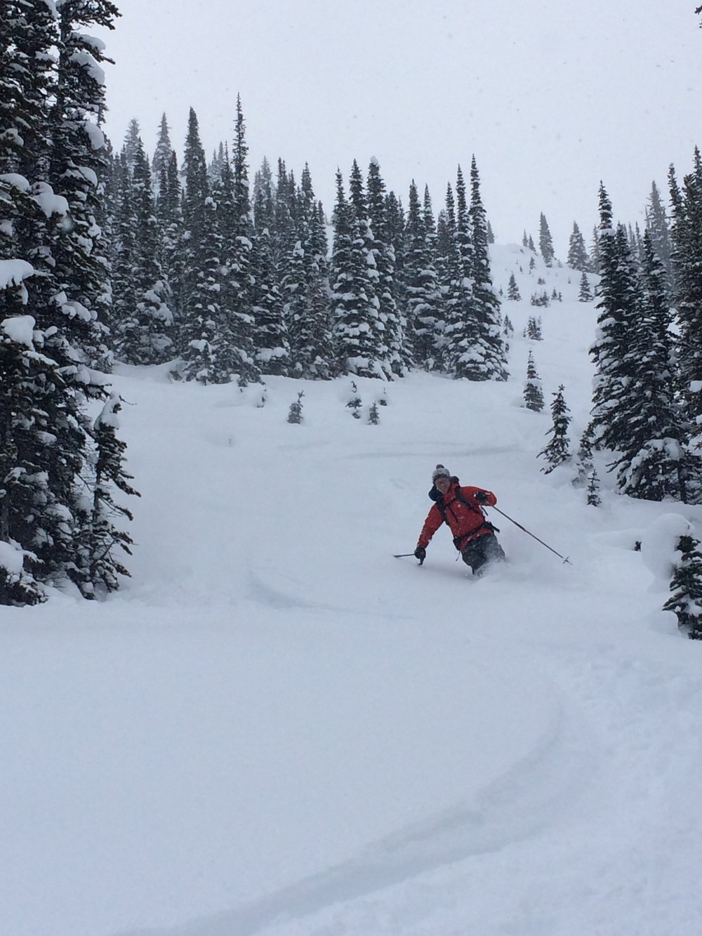 Deep Powder at The Pulpit