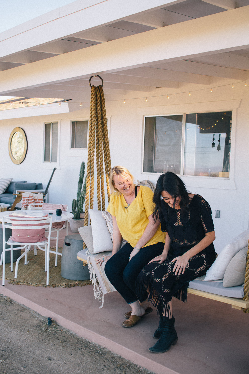 My friend Lindsay Hollinger, who I met through Instagram! I got to visit her at her home,  Casa joshua   tree    recently