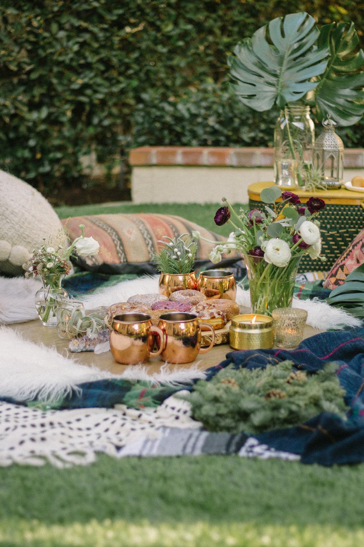 boho brunch picnic 17