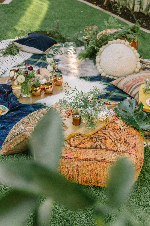 boho picnic brunch 25