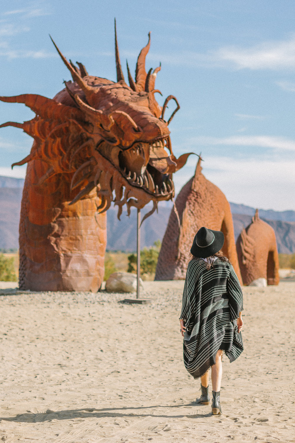 borrego springs dragon sculpture
