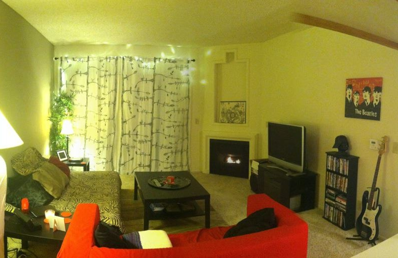 Our apartment in September 2012