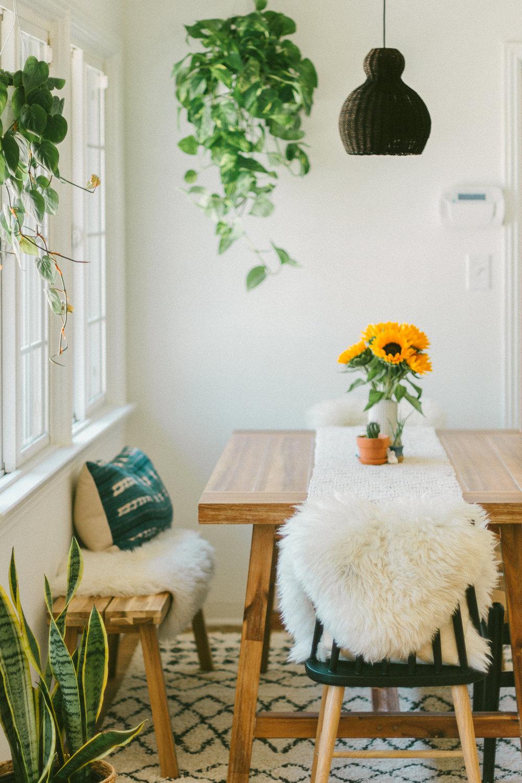 boho dining room 12