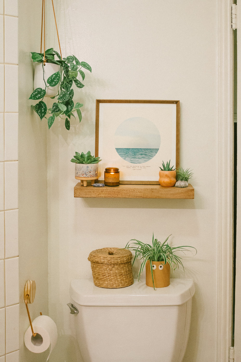 boho bathroom 20
