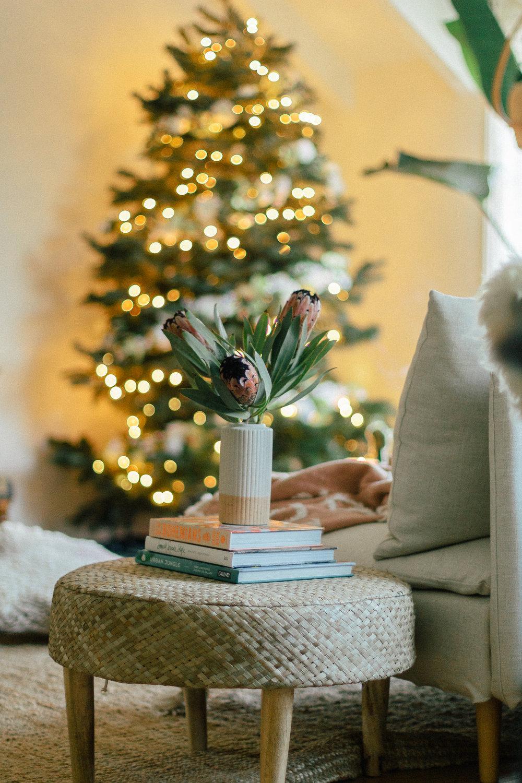 floral christmas tree 11