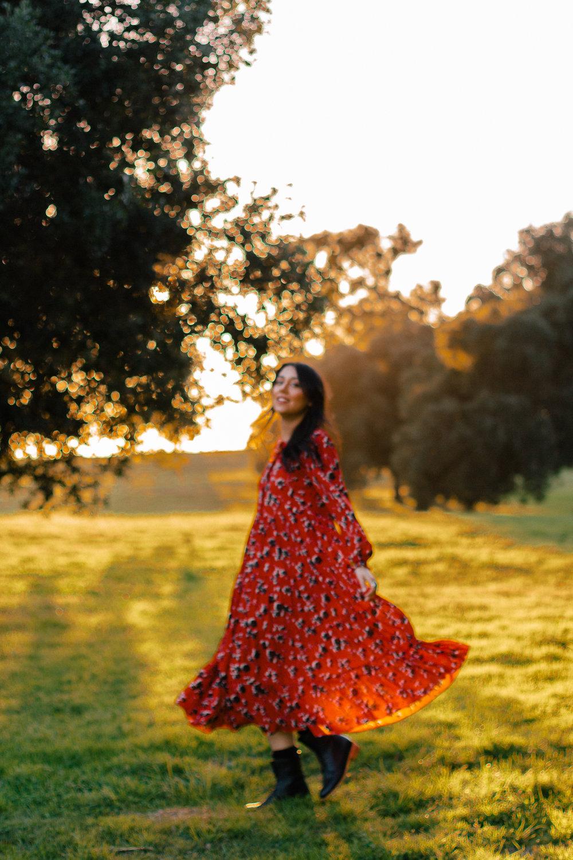 zara red dress 2
