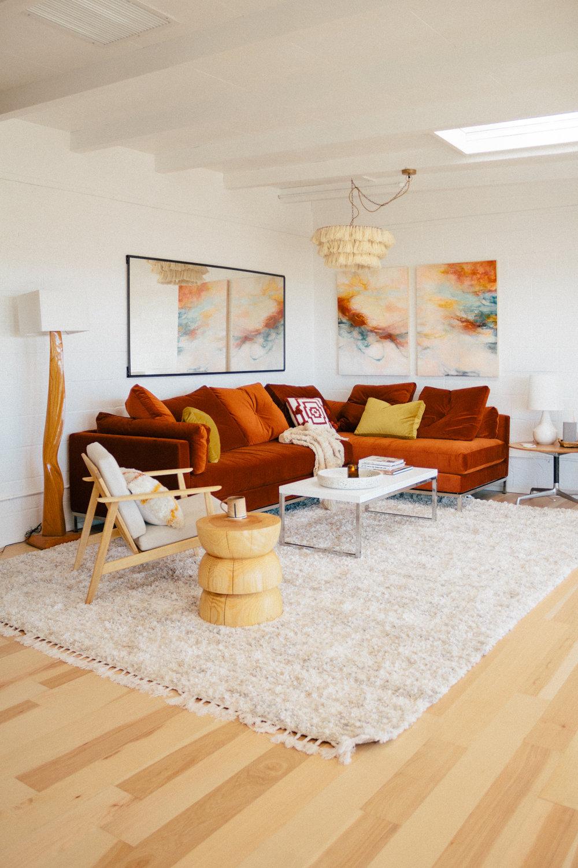 #ThatDesertHouse living room