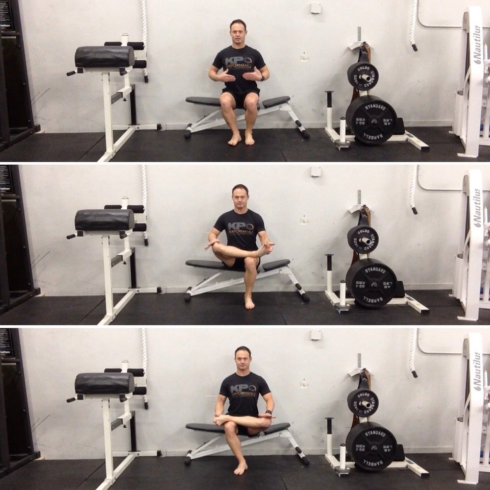 Seated Hip External Rotation