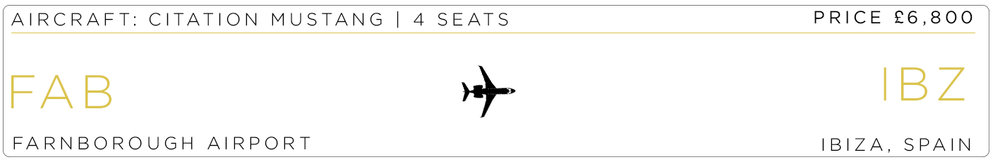 Private Jet Charter | Ibiza | Jet Hire | Astute Aviation