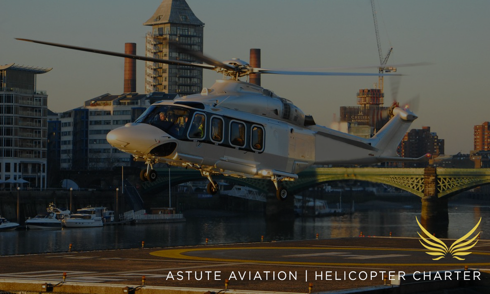 Astute Aviation | Helicopter charter |  Helicopter Hire