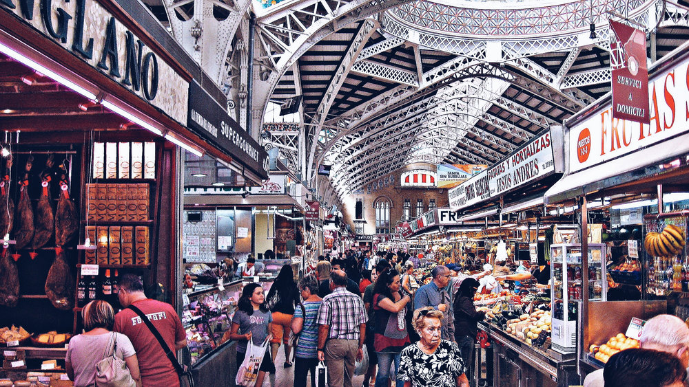 Astute Destinations | Valencia | Mercado Central | Jet Sharper