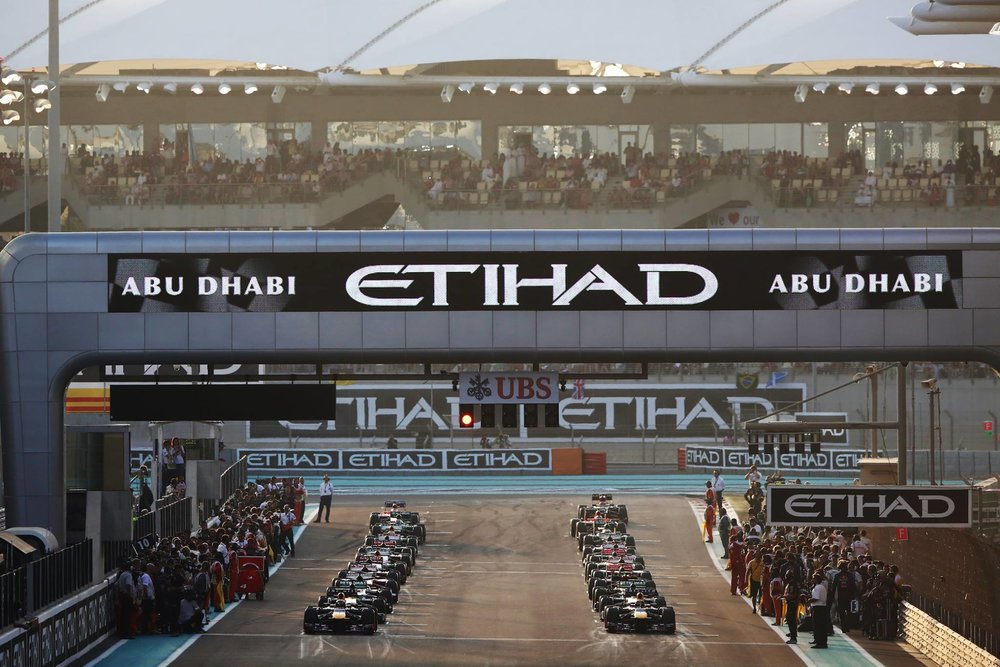 abu dhabi grand prix - 21-23 November 2018