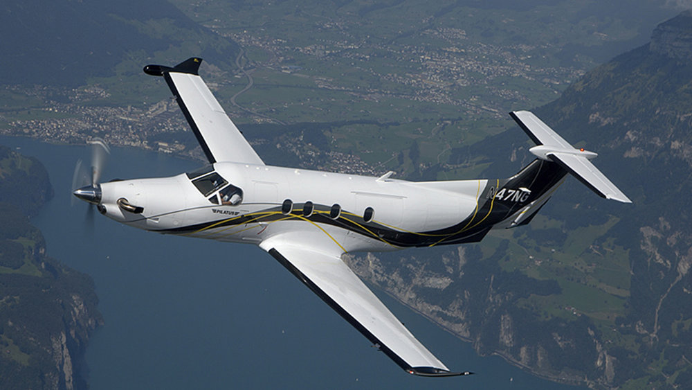 Astute Aviation | Pilatus PC-12 | Private Jet Hire