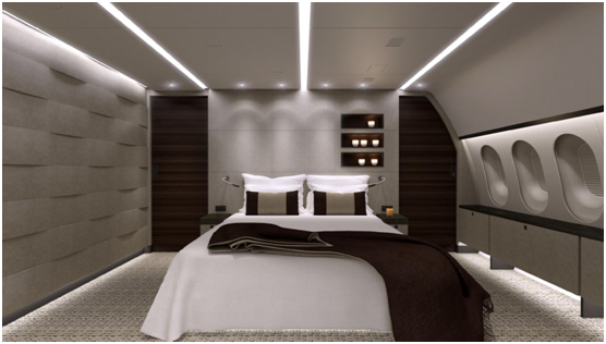 Astute Aviation | Private Jet Charter | Dreamliner Bedroom.png