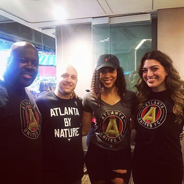 Got to represent the right way. #atlantabynature #uniteandconquer