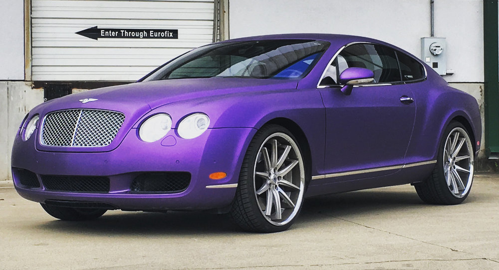 Purple+bentley+gt+wrap+avery+matte+metallic+purple+thewraplab+nashville.JPG