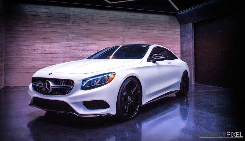 3M satin  White S550 Coupe The Wrap Lab Nashville.JPG