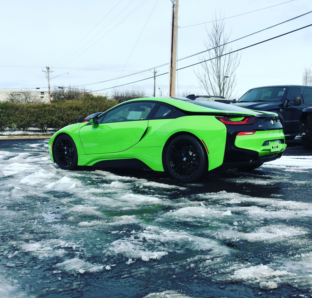 Avery Grass green BMW i8 wrap the wrap lab nashville.png