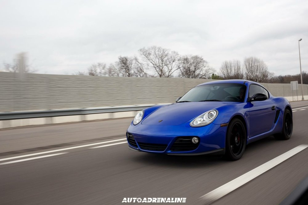 3m Cosmic blue porsche cayman wrap the wrap lab nashville.JPG