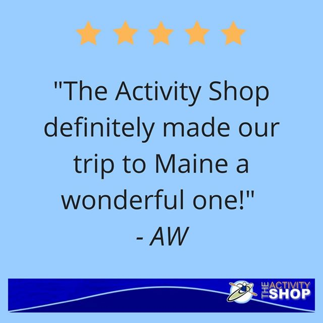 The Activity Shop | Testimonial