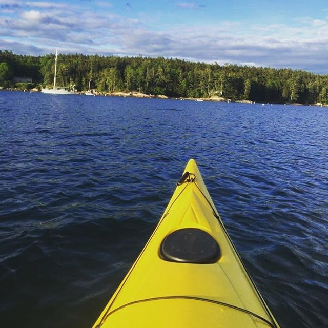 The Activity Shop | Kayak on inner harbor of Blue Hill Bay