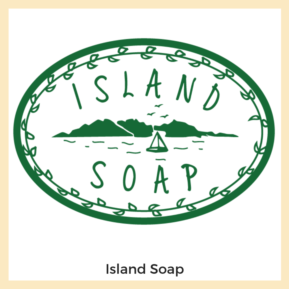 Island Soap. Sedgwick, Maine. Branding + Logo, Website, Social Media, Email Marketing, Strategy + Planning, Content Strategy + Copy Writing