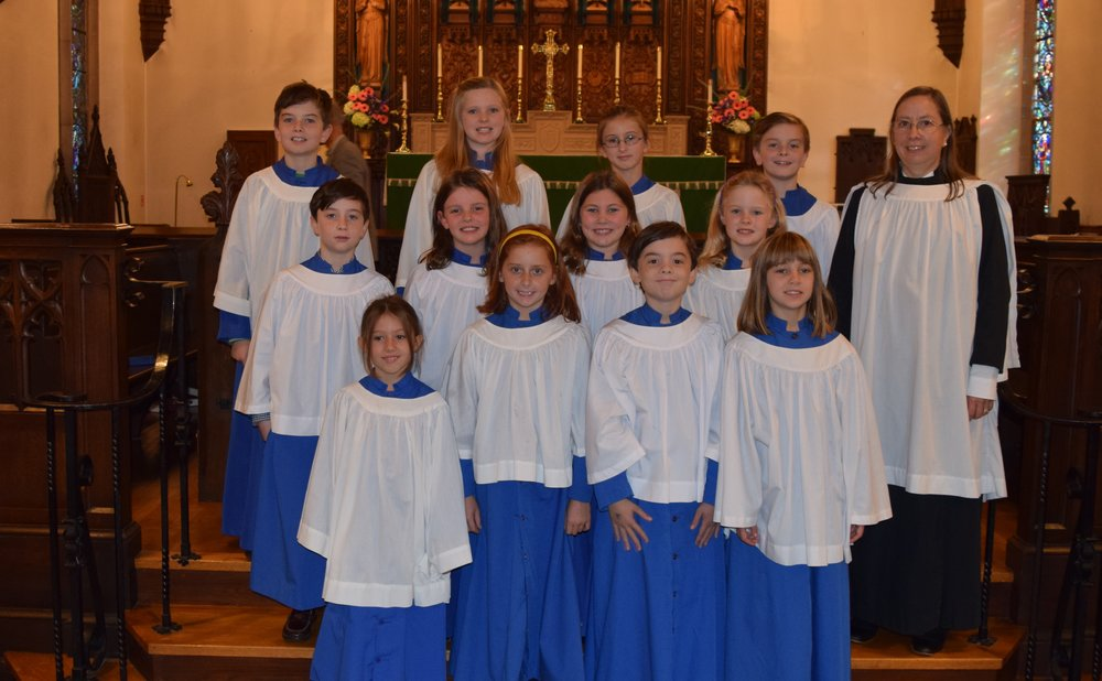 St. Johns Choristers Oct 2016.jpg