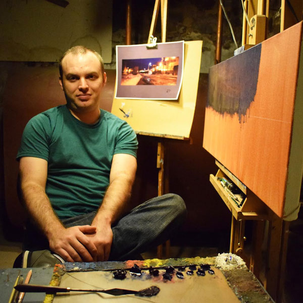 Painter Patrick Seufert