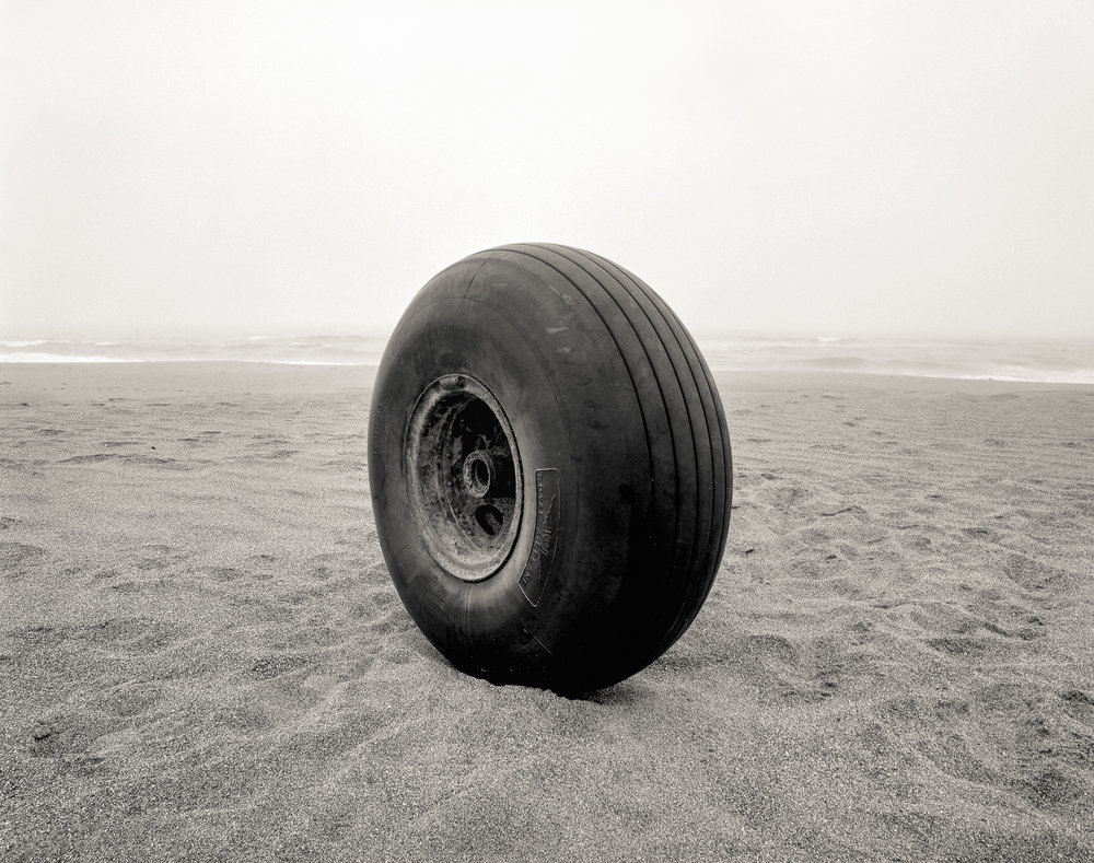 Airplane Wheel, the Great Beach