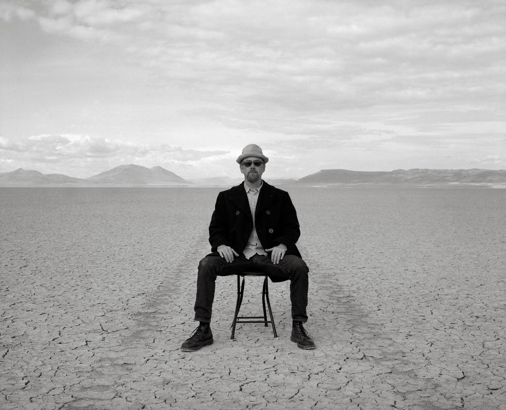 Austin Granger in the Alvord Desert