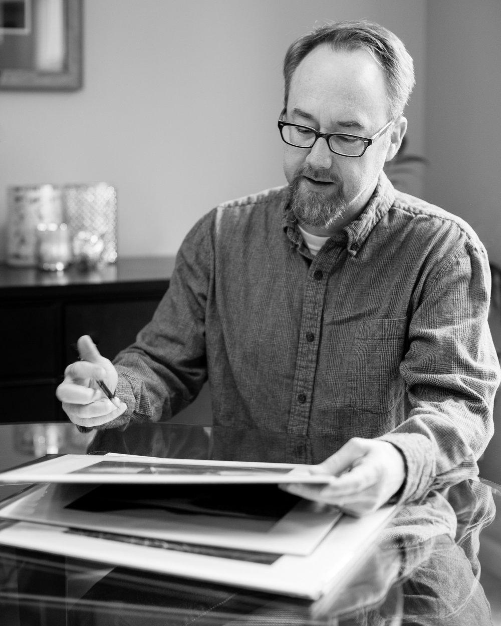 Portrait of Austin Granger, seated