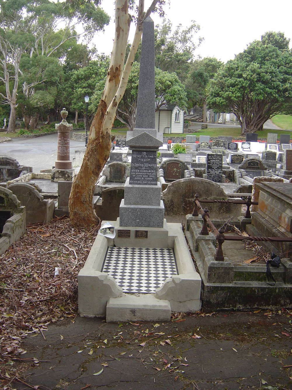 Grave restoration project - after
