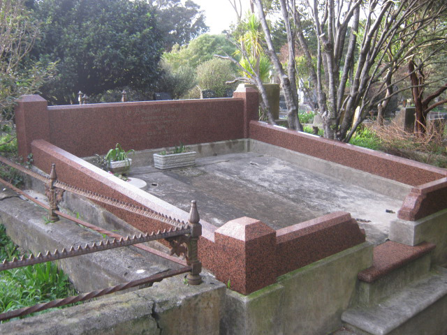 Grave restoration - before
