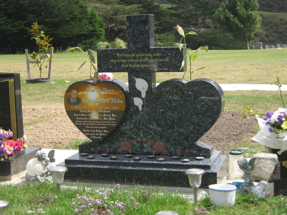 Headstones Plaques Monuments Guardian Memorials - Ceramic photo on headstone
