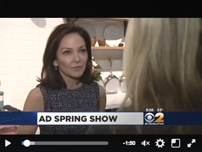 CBS New York visited #ADDS2016 to catch up with Architectural Digest's Margaret Russell and preview the latest technology in home appliances.